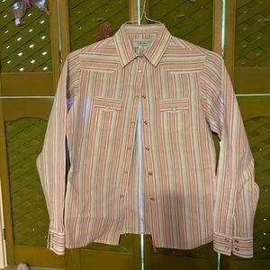 Wrangler Blues Button Down Shirt